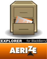 Aerize Explorer for T-mobile BlackBerry Curve 8320